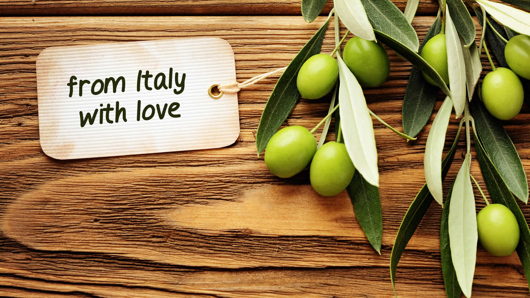Olive Oil From Italy With