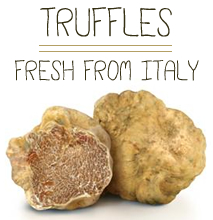 Buy fresh truffles