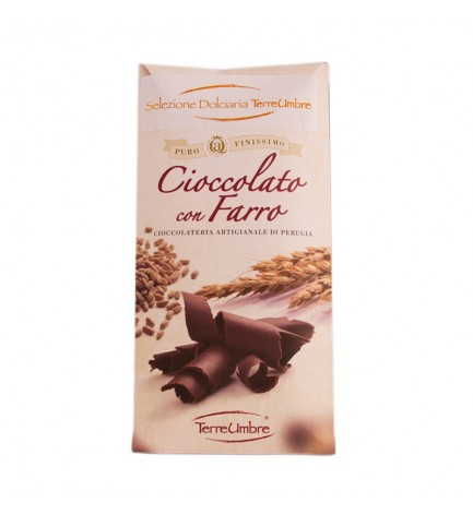 Chocolate with spelt