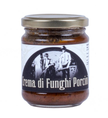 italian food Porcini Cream