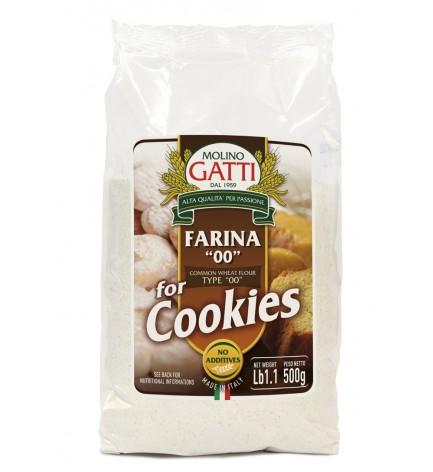 "Flour ""00"" for Cookies ""Molino Gatti"" 500gr"