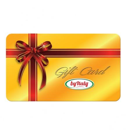 Italian Food Gift Voucher Card