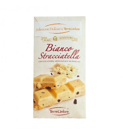 Stracciatella white chocolate 100gr