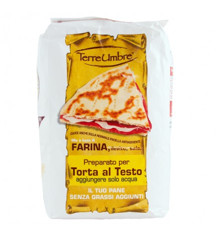 """""""Terre Umbre"""" flour for pizza and cakes"""