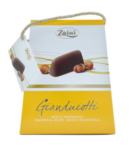 Pochette Milano Gianduiotti chocolate