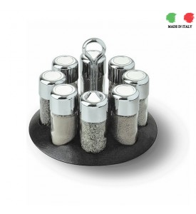 Design Giungi-Murano- Revolving Cruet Set