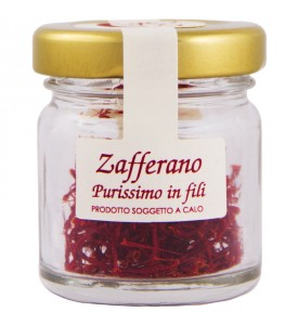 Italian saffron in threads