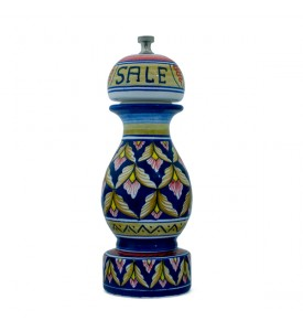 salt mill - ceramics from Deruta