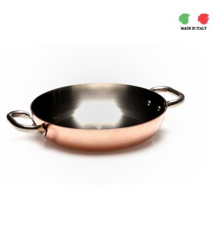 Copper skillet Agnelli 24cm