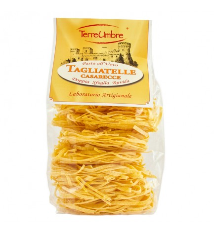 """Tagliatelle all' uovo (hand-packing) """"Terre Umbre"""" 500g"""