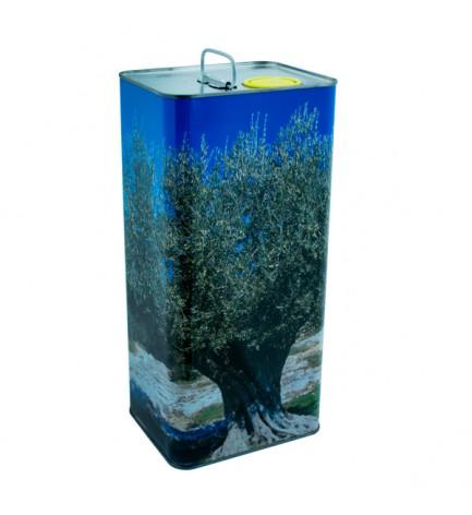 italian food Olivozzo Tin Extra Virgin Olive Oil 5L