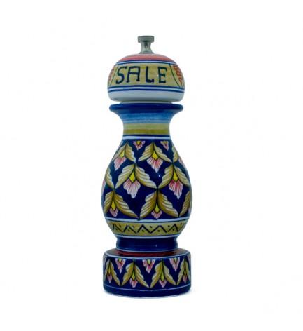 salt mill - ceramics from Deruta