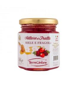 Nectar fruit - honey and strawberry 250gr