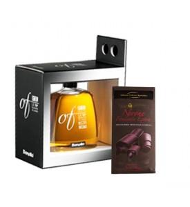 Moscato Ligneum Bonollo and Nero Chocolate
