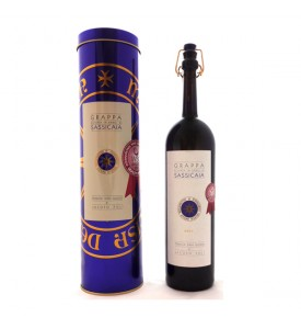 Barrel Sassicaia Grappa Poli