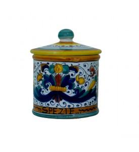 Small Spice Caddy - ceramics from Deruta