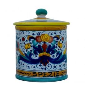Spice Caddy - ceramics from Deruta