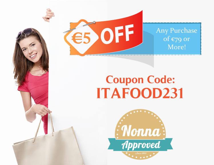 Italian Food Discount Coupon Codes
