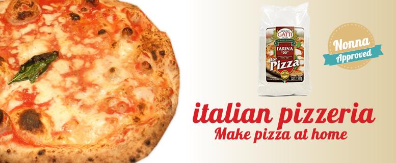 Flour for italian pizza